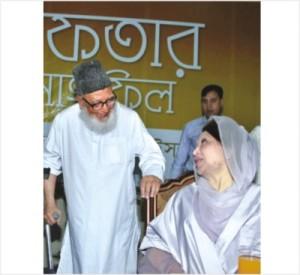 খালেদা জিয়া ও গোলাম আজম